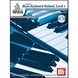 Mel Bay Blues Keyboard Method, Level 1 Book and CD (21060BCD)