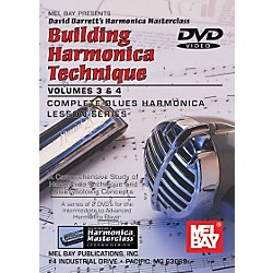 Mel Bay Building Harmonica Technique Volumes 3 & 4 DVD (99113DVD)