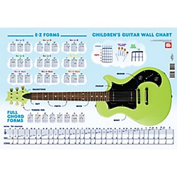 Mel Bay Children's Guitar Wall Chart (30050)