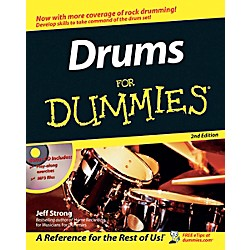 Mel Bay Drums for Dummies, 2nd Edition  Book/CD Set (0471794112)