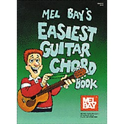 Mel Bay Easiest Guitar Chord Book (94413)