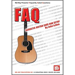 Mel Bay FAQ: Acoustic Guitar Care and Setup Book (21001)