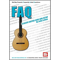 Mel Bay FAQ: Classic Guitar Care and Setup Book (21033)