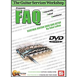 Mel Bay FAQ Electric Guitar Care and Setup DVD (GSW031)