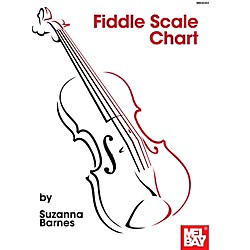 Mel Bay Fiddle Scale Chart (30353)