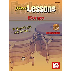 Mel Bay First Lessons Bongo Book & CD (30045BCD)