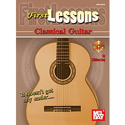 Mel Bay First Lessons Classical Guitar (30048BCD)