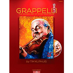 Mel Bay Grappelli Licks: The Vocabulary of Gypsy Jazz (LP001BCD)