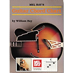Mel Bay Guitar Chord Chart Book (93322)