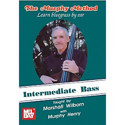 Mel Bay Intermediate Bass - Learn Bluegrass by Ear DVD (21719DVD)