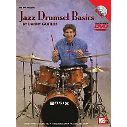 Mel Bay Jazz Drumset Basics DVD and Chart (20547DP)
