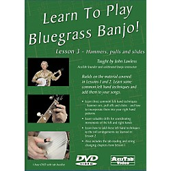 Mel Bay Learn to Play Bluegrass Banjo DVD - Lesson 3: Hammers, Pulls, & Slides (DLPB3)