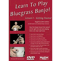 Mel Bay Learn to Play Bluegrass Banjo DVD: Lesson 1 - Getting Started (DLPB1)
