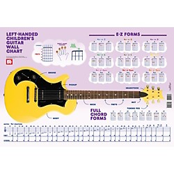 Mel Bay Left-Handed Children's Guitar Wall Chart (30066)