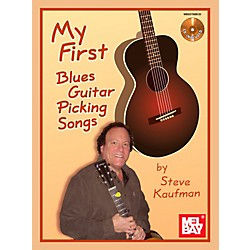 Mel Bay My First Blues Guitar Picking Songs (20798BCD)