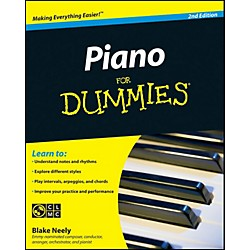 Mel Bay Piano for Dummies, Second Edition Book/CD Set (9780470496442)