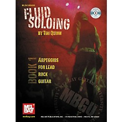 Mel Bay Rock Curriculum: Fluid Soloing Book 1 - Arpeggios for Lead Rock Guitar (Book/CD) (20680BCD)