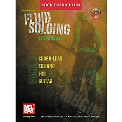 Mel Bay Rock Curriculum: Fluid Soloing Book 3 - Chord-Lead Soloing For Guitar (Book/CD) (20679BCD)