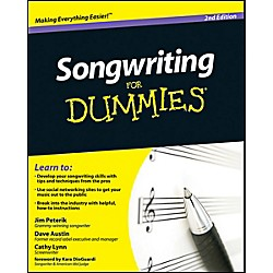 Mel Bay Songwriting for Dummies, 2nd Edition Book (9780470615140)