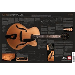 Mel Bay Tom Bills Luthier Wall Chart (9780786685080)