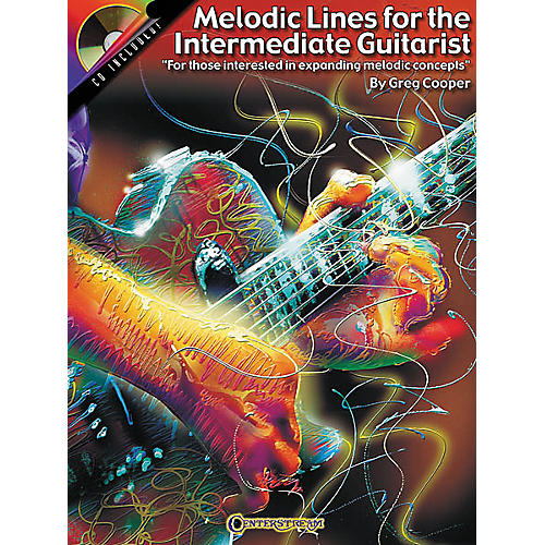 Centerstream Publishing Melodic Lines for the Intermediate Guitarist (Book/CD)-thumbnail