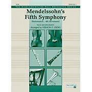 "Alfred Mendelssohn's 5th Symphony ""Reformation,"" 4th Movement Concert Orchestra Grade 3 Set"