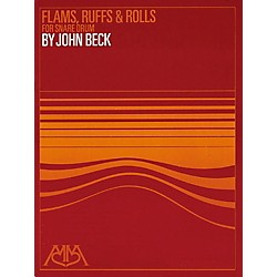 Meredith Music Flams, Ruffs & Rolls For Snare Drum (317054)