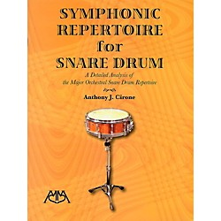 Meredith Music Symphonic Repertoire For Snare Drum (317156)
