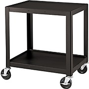 "H. Wilson Metal 26"" 2 Shelf Cart"