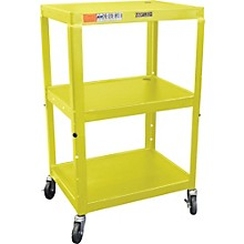 "H. Wilson Metal 26"" to 42"" 3 Shelf Cart"