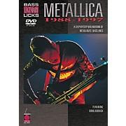 Cherry Lane Metallica - Bass Legendary Licks 1988-1997 (DVD)