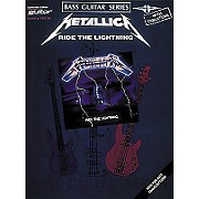 Hal Leonard Metallica - Ride the Lightning Bass Tab Book