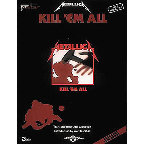 Hal Leonard Metallica Kill 'em All Guitar Tab Songbook-thumbnail