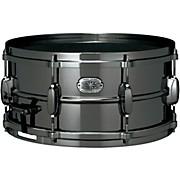 Tama Metalworks Nickel-Plated Black Steel Snare Drum
