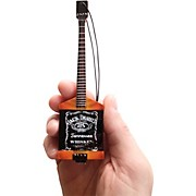 Axe Heaven Michael Anthony Jack Daniels Bass Miniature Guitar Replica Ornament