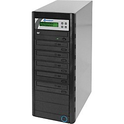Microboards Quic Disc DVD H125, Economy CD/DVD Duplicator 1:5 with Hard-Drive (QD-DVD-H125)