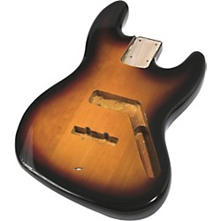 Mighty Mite MM2703 Jazz Bass Replacement Body - Burst Finish (MM27032TS)