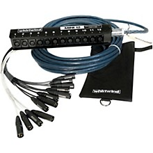 Whirlwind Mini 12 Low Profile Audio Drop Snake 12 X 12
