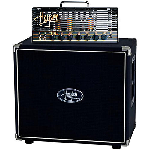 Hayden Mini Mofo 15 15W Tube Guitar Amp Head with 112F-60 60W 1x12 Guitar Speaker Cabinet-thumbnail
