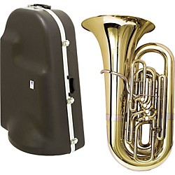 Miraphone 1291 Series 5-Valve BBb Tuba with Hard Case (1291-5V KIT)