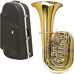 Miraphone 188-5U Series 5-Valve CC Tuba with Hard Case (188-5UC KIT)