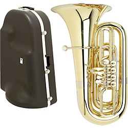 Miraphone 191 Series 4-Valve BBb Tuba with Hard Case (S191-4V KIT)