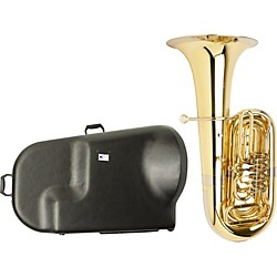 Miraphone S186 Standard Series 4-Valve BBb Tuba with Hard Case (S186-4V KIT)