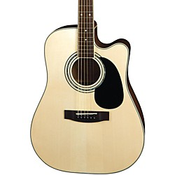 Mitchell MD100SCE Dreadnought Cutaway Acoustic-Electric Guitar (MD100SCE)