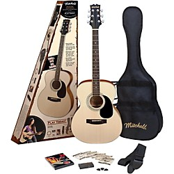 Mitchell MO100SPK Folk Acoustic Guitar Pack (MO100SPK)