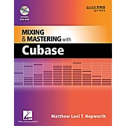 Hal Leonard Mixing And Mastering With Cubase - Quick Pro Guides Series Book/DVD-ROM