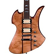 B.C. Rich Mockingbird Neck Through with Maple Burl Top Electric Guitar