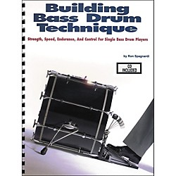 Modern Drummer Building Bass Drum Technique Book/CD (6620158)