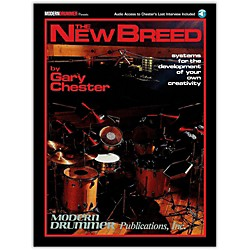 Modern Drummer The New Breed - Systems For The Development of Your Own Creativity Book/CD (6620100)