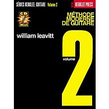 Berklee Press Modern Method for Guitar Berklee Methods Series Softcover with CD Written by William Leavitt